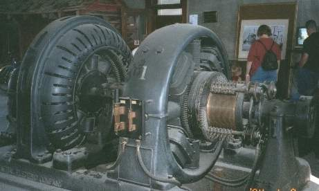 Converting ac to dc picture of old motor generator set at for Turn an electric motor into a generator